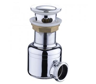 Сифон хромированный MAGdrain POP01-G (д.45, хром, магнитный клапан)